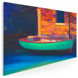Port sentymentów - nowoczesny obraz na płótnie - 120x80 cm