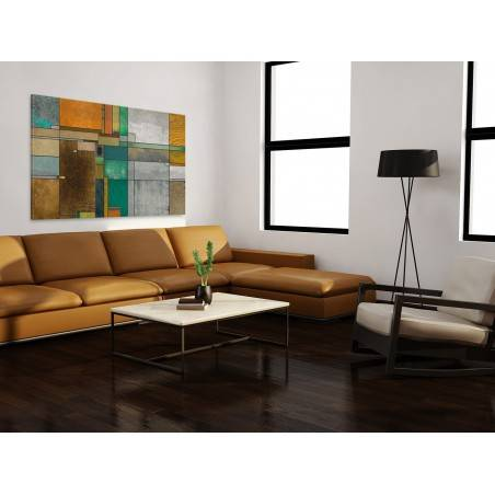 Magnetyczna układanka - nowoczesny obraz do salonu - 120x80 cm