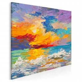 Dzienniki Magellana - nowoczesny obraz na płótnie - 80x80 cm