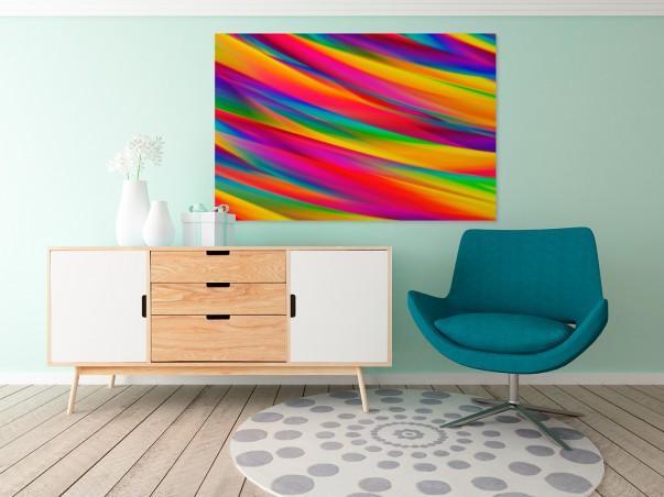Eliksir szczęścia - nowoczesny obraz na płótnie - 120x80 cm