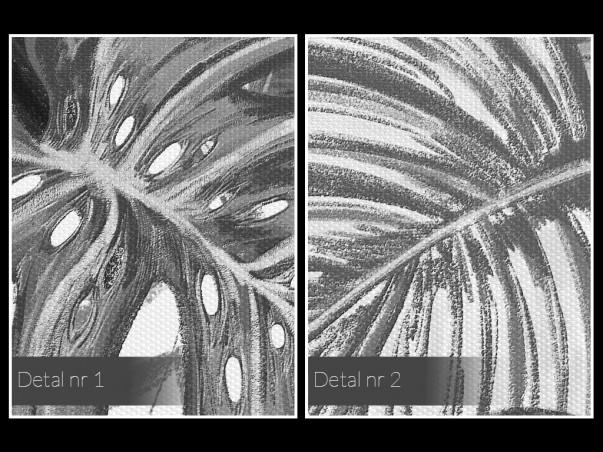 Zagajnik - nowoczesny obraz na płótnie - 120x80 cm