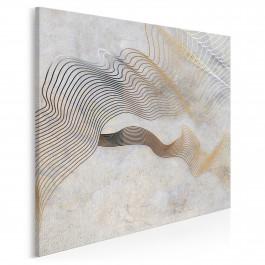 Nić Ariadny - nowoczesny obraz na płótnie - 80x80 cm