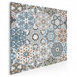 Perły Maroka - nowoczesny obraz na płótnie - 80x80 cm
