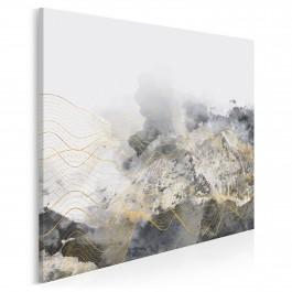 Lśnienie - nowoczesny obraz na płótnie - 80x80 cm