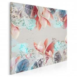 Zaczarowany ogród - nowoczesny obraz do sypialni - 80x80 cm