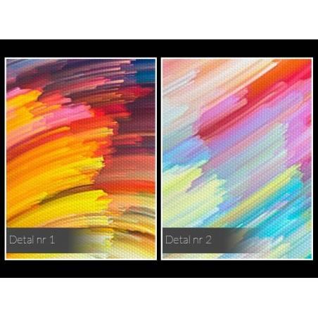 Alchemia światła - nowoczesny obraz do salonu - 120x80 cm