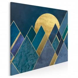 Egipskie noce - nowoczesny obraz na płótnie - w kwadracie