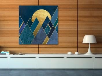 Egipskie noce - nowoczesny obraz na płótnie - 80x80 cm