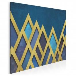 Skarbce faraonów - nowoczesny obraz na płótnie - 80x80 cm