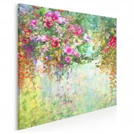 Wonny woal - nowoczesny obraz na płótnie - 80x80 cm