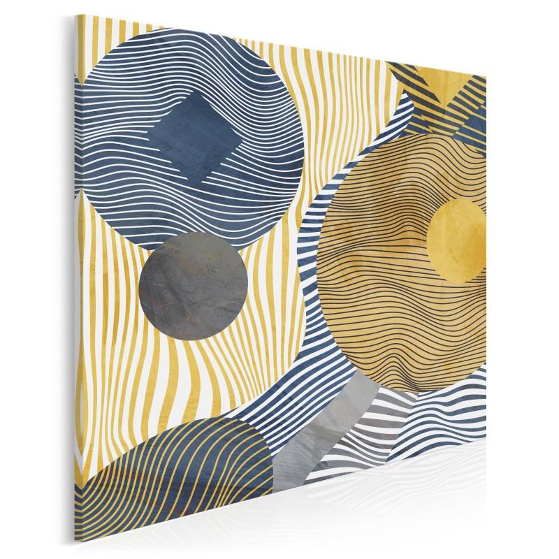 Antymateria - nowoczesny obraz na płótnie - 80x80 cm