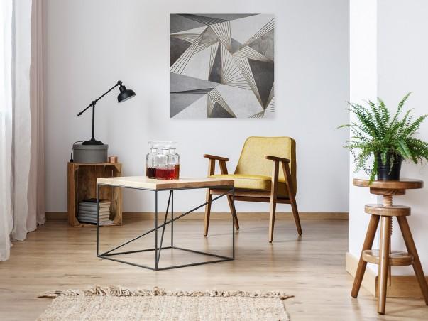Dysproporcja - nowoczesny obraz na płótnie - 80x80 cm