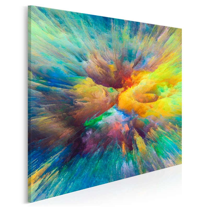 Akt ekstazy - nowoczesny obraz do salonu - w kwadracie