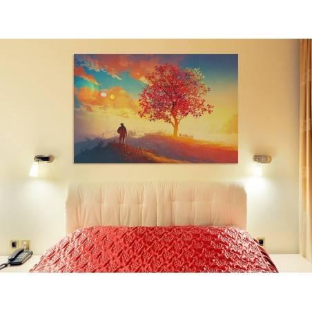 Moje Eldorado - nowoczesny obraz na płótnie - 120x80 cm