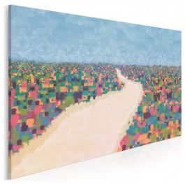 Droga do Edenu - nowoczesny obraz do salonu - 120x80 cm