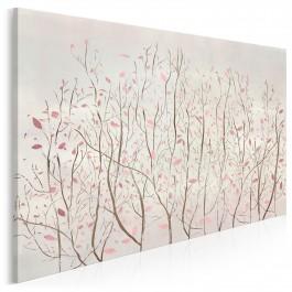 Szept wiatru - nowoczesny obraz na płótnie - 120x80 cm