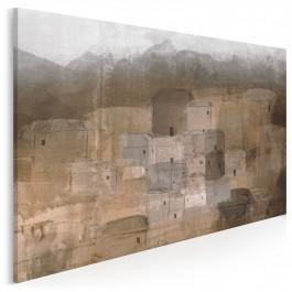 Cicha osada - nowoczesny obraz na płótnie