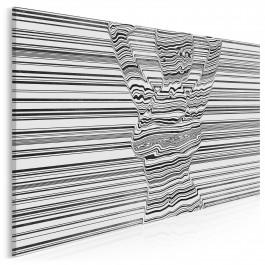 Gorąca linia - nowoczesny obraz do sypialni - 120x80 cm