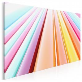 Fabryka szczęścia - nowoczesny obraz na płótnie - 120x80 cm