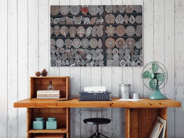 Jarmark cudów - fotografia na płótnie - 120x80 cm