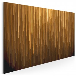 Modlitwa słońca - fotoobraz do sypialni - 120x80 cm