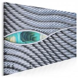 Oko Horusa - fotoobraz do sypialni - 120x80 cm