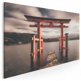 Jezioro Ashi - fotoobraz do sypialni