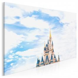 Mój Disneyland - fotografia na płótnie