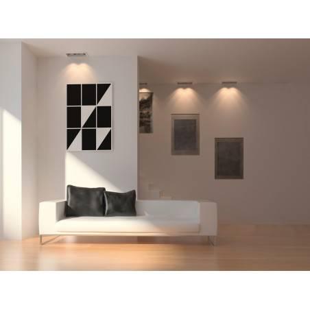 Less is more - nowoczesny obraz na płótnie - 50x70 cm