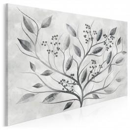 Kwiat nocy - nowoczesny obraz na płótnie
