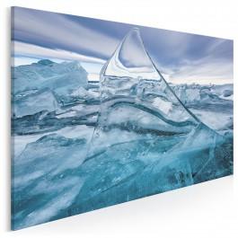 Kryształ Islandii - fotografia na płótnie - 120x80 cm