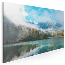 W sercu Julijskich Alp - nowoczesny obraz na płótnie - 120x80 cm