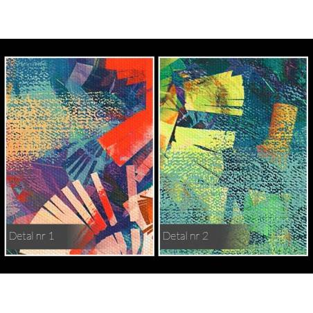 Archipelag marzeń - nowoczesny obraz na płótnie - 120x80 cm