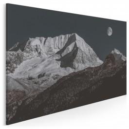 Góry księżycowe - fotoobraz do sypialni - 120x80 cm