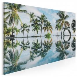 Rajska wyspa - fotoobraz na płótnie - 120x80 cm