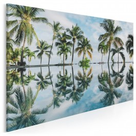 Rajska wyspa - fotoobraz na płótnie
