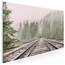 Podróż w nieznane - zdjęcie na płótnie - 120x80 cm