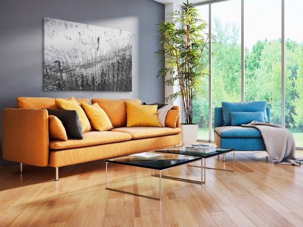 Stepy Akermańskie - nowoczesny obraz na płótnie - 120x80 cm