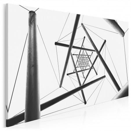 W pułapce czasu - fotoobraz do salonu - 120x80 cm