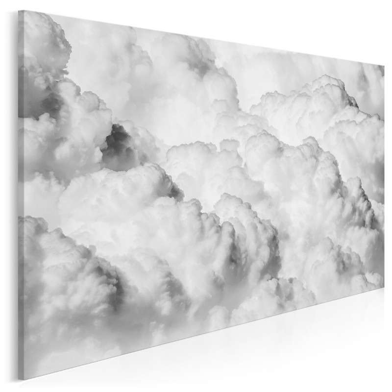 Obłoki niepewności - zdjęcie na płótnie - 120x80 cm