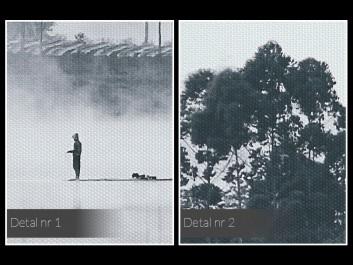 Człowieczy los - fotografia na płótnie