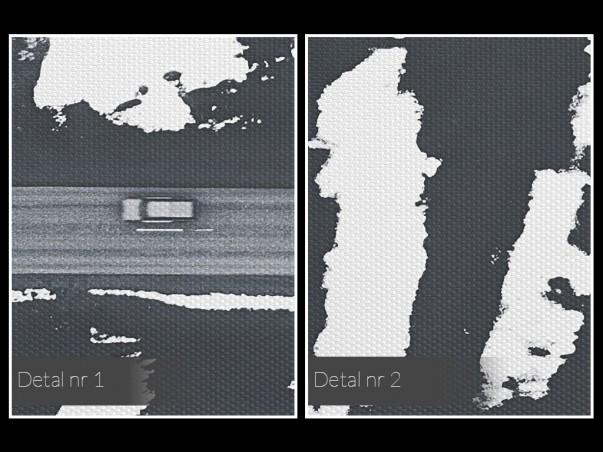 Ostatnia prosta - nowoczesny obraz na płótnie - 120x80 cm