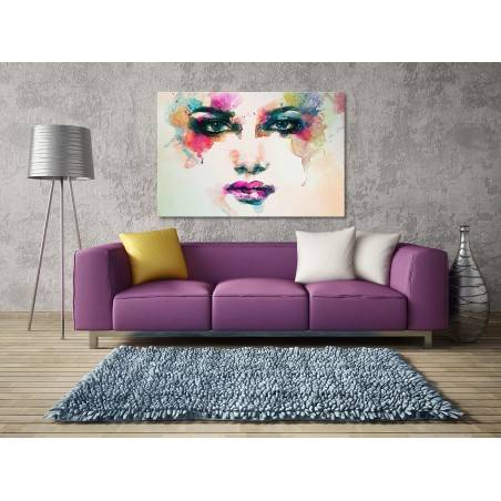 Eklektyczne doznanie - nowoczesny obraz na płótnie - 120x80 cm