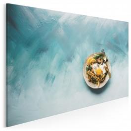 Niebiański smak - fotoobraz do kuchni