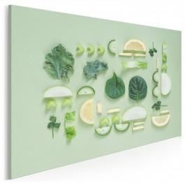 Zrównoważona dieta - fotoobraz do kuchni
