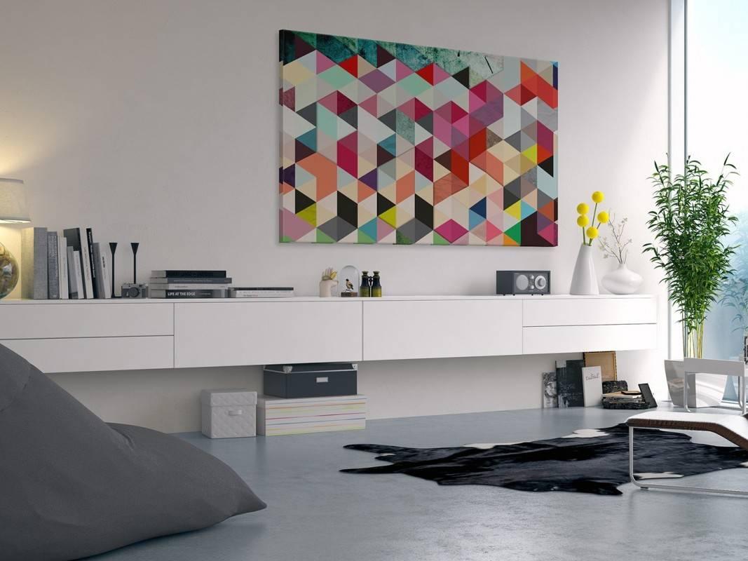 Pozory i złudzenia - nowoczesny obraz na płótnie - 120x80 cm
