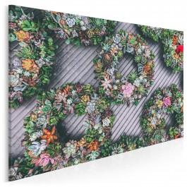 Ładne kwiatki! - fotoobraz do sypialni - 120x80 cm