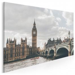 Serce Londynu - fotoobraz do sypialni - 120x80 cm