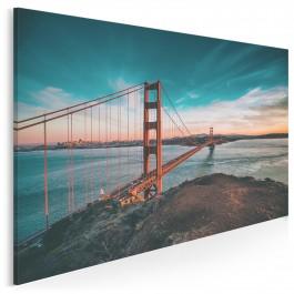 Cieśnina Golden Gate - nowoczesny obraz na płótnie