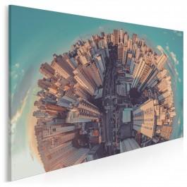 City vibes - nowoczesny obraz na płótnie - 120x80 cm